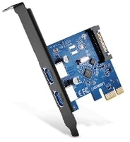 UGREEN PCI-E to USB 3.0 PCI Express Expansion Card برنامج تعريف